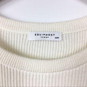 Equipment Sweaters - Equipment Sleeveless Bay Side Snap Sweater